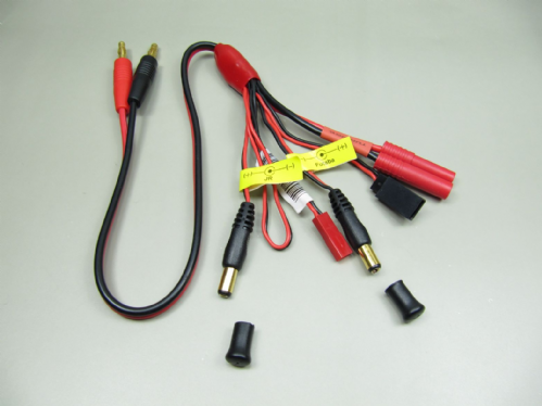 Turnigy's HXT 4MM Plug 6 in 1 Charging Harness